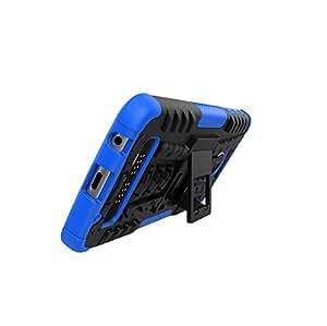 Moto Z Play case, KuGi [Anti-Slip Series][ Dual Layer] Protective, ultra-thin PC Back + TPU Cover Case for Motorola Moto Z Play smartphone(Blue)