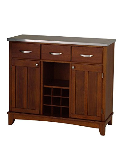 Home Styles 5100-0073 Large Wood Server Sideboard by Home Styles