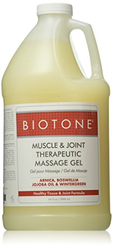 Biotone Muscle and Joint Relief Therapeutic Products Massage Gel, 64 Ounce
