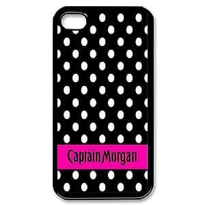 iPhone 4,4S Phone Case Captain Morgan G5934