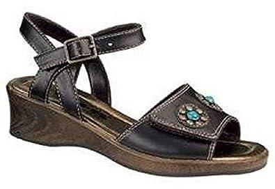 848dbd6425add6 HIS Sandale für junge Damen dunkelbraun
