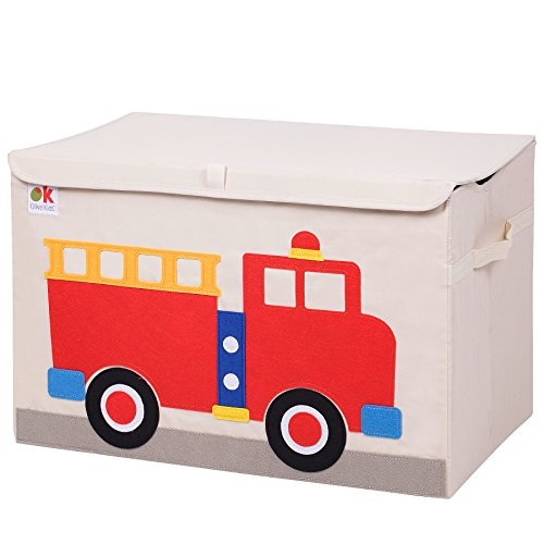 Wildkin Toy Chest, Fire Truck
