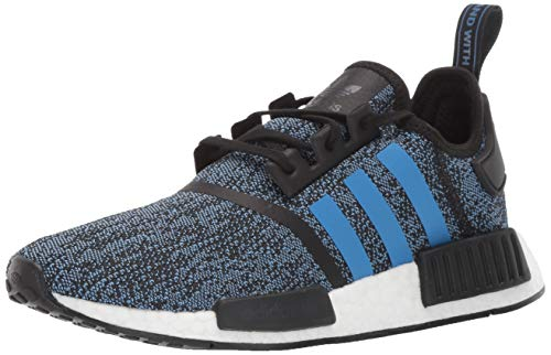 adidas Originals NMD_R1 Running Shoe True Blue/Utility Black, 4 M US Big Kid by adidas Originals (Image #1)