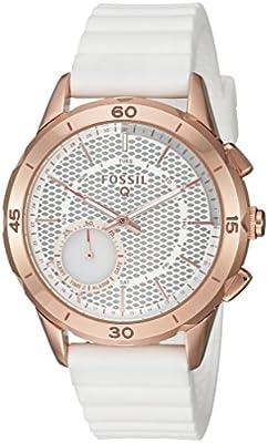 Fossil Q Modern Pursuit Gen 2 Hybrid Smartwatch White Silicone FTW1135