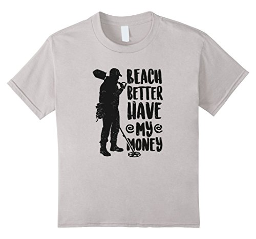 Money Girls T-shirt - Kids Fashion Beach Better Have My Money Humorous Tshirt 4 Silver