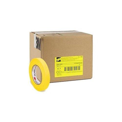 3 M自動車Refinishイエローマスキングテープ18 mmケースof 48 – 06652 – 48   B01MQDN4WA