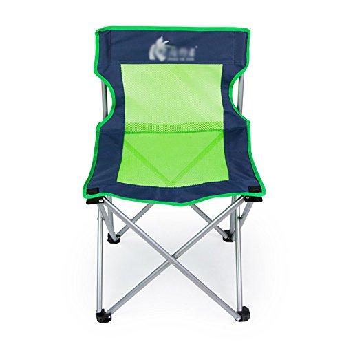 Épaissir La Chaise Pliante De Ventilation Avec La Chaise Extérieure Légère Et Confortable De Dossier De Loisirs De Pêche De Barbecue
