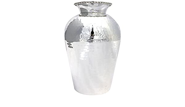 Silver plate your vases or urns in an instant and get great results