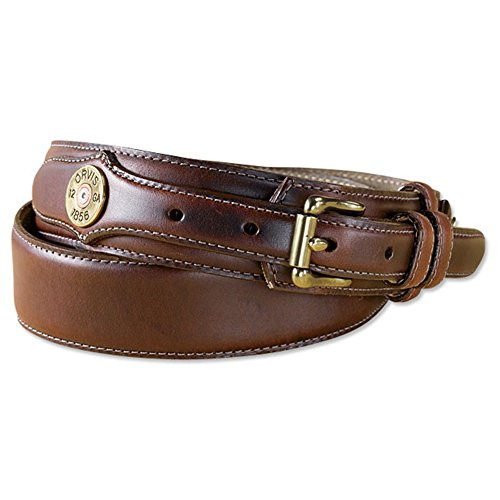 Orvis Heritage Leather Shotshell Ranger Belt, Brown, ()