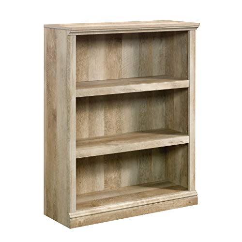 Sauder 420177 Miscellaneous Storage 3-Shelf Bookcase L: 35.28 x D: 13.31 x H: 43.78 Lintel Oak Finish