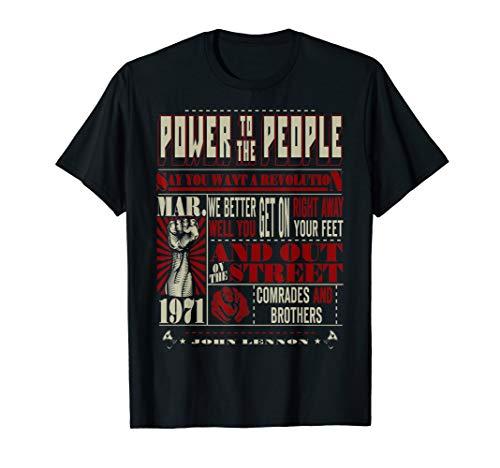 (John Lennon - Revolution T-Shirt)
