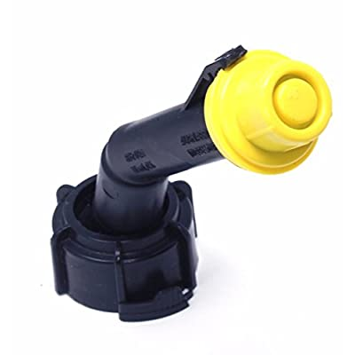 10 Pack Replacement Yellow SPOUT CAPS Top Hat Style fits # 900302 900092 Blitz Gas Can Spout Cap fits self Venting Gas can Aftermarket (SPOUTS NOT Included): Industrial & Scientific