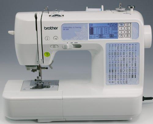 Amazon Brother SE40 Computerized EmbroideryandSewing Machine Interesting Brother Se350 Computerized EmbroideryAndSewing Machine