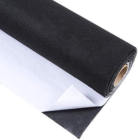 [해외]Caydo Black?Adhesive?Felt Shelf?Liner for Jewelry Drawer Craft Fabric Peel Stick 17.7 x 78.7 / Caydo Black?Adhesive?Felt Shelf?Liner for Jewelry Drawer Craft Fabric Peel Stick 17.7 x 78.7