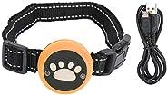 Coleira antilatido recarregável, coleira de adestramento para cães pequenos, médios e grandes, dispositivo ant
