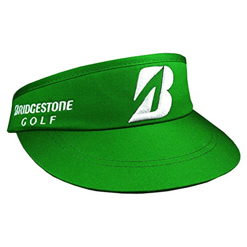 bridgestone-golf-high-crown-adjustable-visor-green
