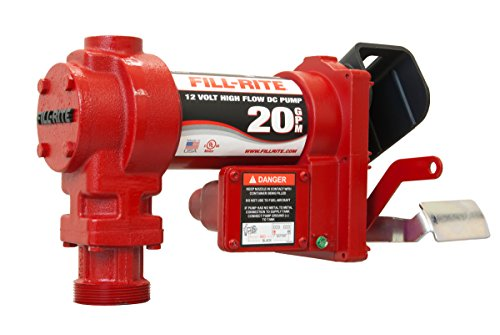 12v Fuel Transfer Pump - Fill-Rite FR4204G 12V 20 GPM Fuel Transfer Pump (Pump Only)