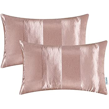 Amazon.com: CaliTime Pack of 2 Cushion Covers Bolster