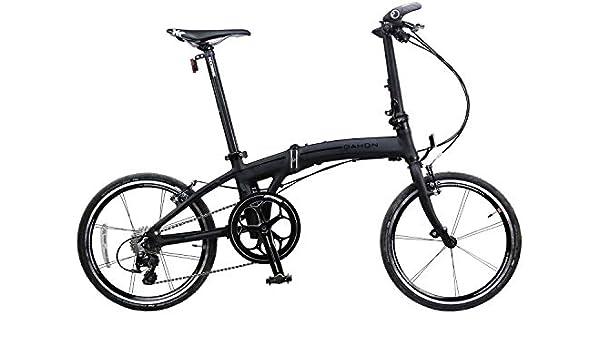 Amazon Com Dahon Mu Lx Matte Black 20 Folding Bike Bicycle