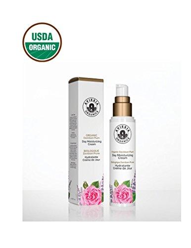 Aviesia Organics Moisturzing Day Cream - 100% USDA Certified - Organic Skin Care for firming, brightening and regeneration - Davidson Plum Natural Skincare 50ml / 1.7oz (50ml / 1.7 fl oz)