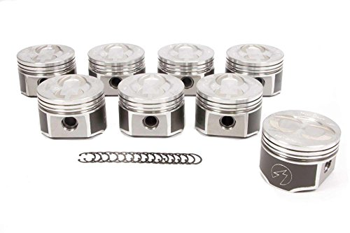 Speed Pro TRW L2303NF 030 forged pistons + moly rings set Ford 428 Cobra Jet CJ (.060 Bore) (Trw Pistons)