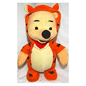 Amazon Com Talking Bouncing Winnie The Pooh Dressed As