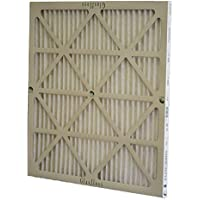 Glasfloss Industries ZLP16251 Z-Line Series ZL MERV 10 Pleated Filter, Case of 12 by Glasfloss Industries