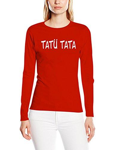 Touchlines T-shirt Tatü Tata - Camiseta Mujer Rojo (red)