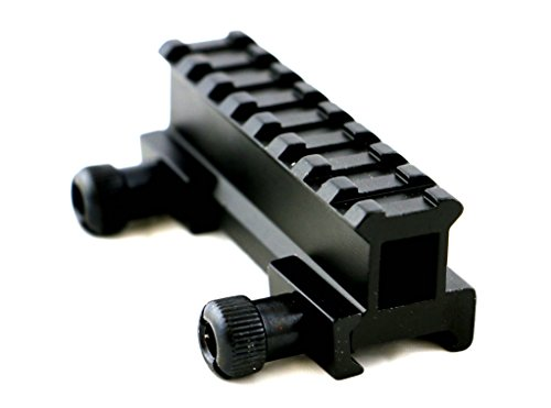 Big Save! 1 Holo Picatinny Riser Flat Top Rail Scope Mount Tactical for Flashlight Laser Scope Sigh...