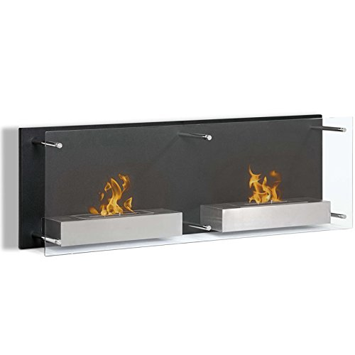 ventless ethanol wall fireplace - 9