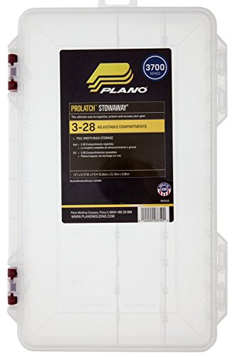 Plano 2375052 Stowaway with Adjustable Dividers and Inhibitor Chips (Stowaway 3700 Plano Prolatch)