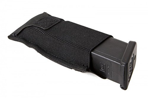BLF Black Force Belt Mount DB Pal Mag Ph. Black Gun Stock - Blue Mag Force Gear