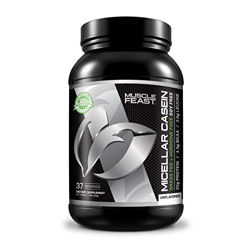 Grass Fed Micellar Casein -2lbs (Unflavored)