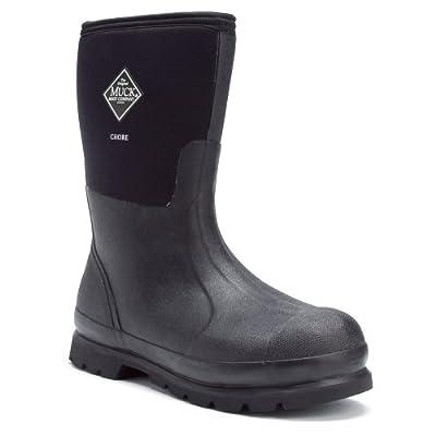 The Original Muck Boot Company Chore Mid Men's Boots 10 US Black