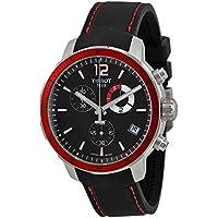 Tissot Quickster Chrono Football Silicone - Black Men's watch #T095.449.17.057.01