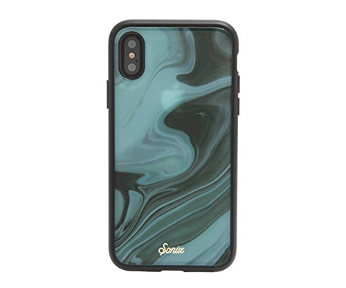 iPhone XS, iPhone X, Jade (Marble) Cell Phone Case [Military Drop Test Certified] Protective Marble Case for Apple iPhone X, iPhone XS