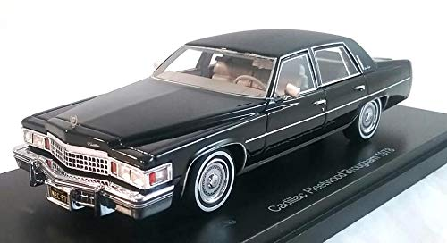 Neo 1978 Cadillac Fleetwood Brougham Black Resin Model Car in 1:43 ...