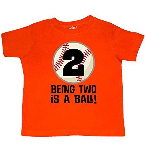 Inktastic - 2nd Birthday Baseball 2 Year Old Boy Toddler T-Shirt 2T...