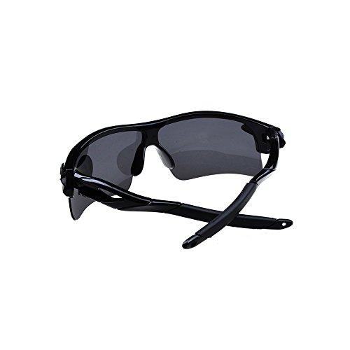 hiokay Lunettes de cyclisme mâle et femelle Fashion Style Eyewear Lunettes de soleil Lunettes de soleil SPORT Course à Pied Voyage personnalité d'équitation Sport Rétro, Gold1