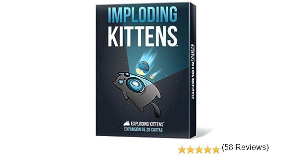 Asmodee - Imploding Kittens (EKEK03ES): Amazon.es: Juguetes y juegos