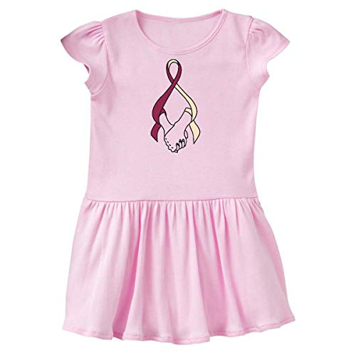 inktastic - Hands Holding Awareness Toddler Dress 2T Ballerina Pink 354f7