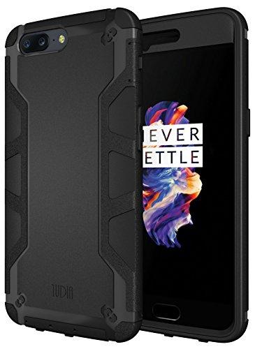 OnePlus 5 Case, TUDIA OMNIX [Heavy Duty] Hybrid [Full-Body] Case with Front...