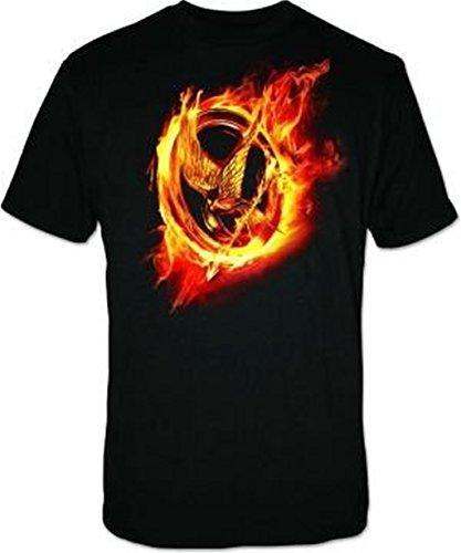 The Hunger Games T Shirt Black (Large)