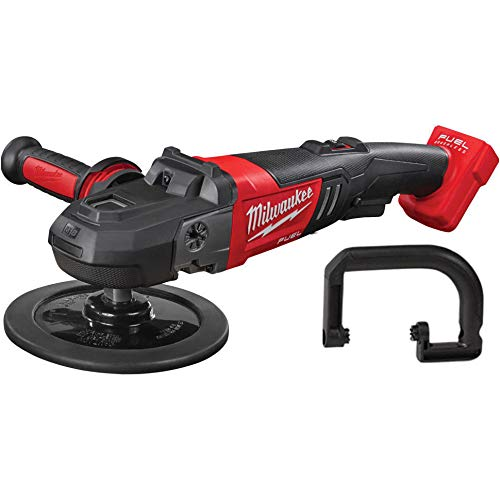 Milwaukee 2738-20 M18 18-Volt FUEL Lithium-Ion Brushless Cordless 7 inch Variable Speed Polisher (Tool-Only)