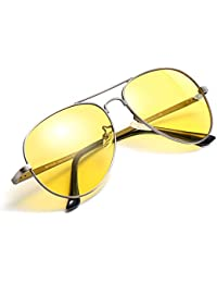 Night Driving Glasses, HD Vision Yellow Glasses, for...