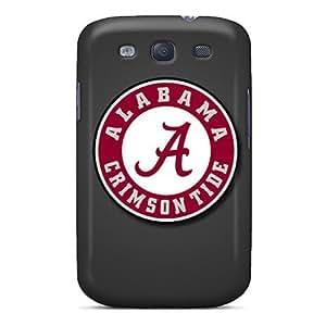 Flexible Tpu Back Case Cover For Galaxy S3 - Alabama Crimson Tide
