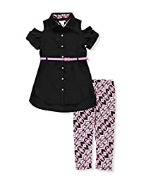 One Step Up Girls' 2-Piece Pants Set Outfit