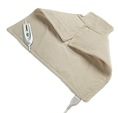 WellRest Therapeutic Neck and Back Warmer, Natural