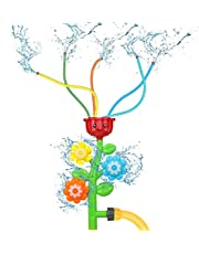 Watersproeier Speelgoed voor Kids Sprinkler Outdoor Water Speelgoed Splash Bloem Spray Speelgoed Water Spelen Pret Zomer Gazon Achtertuin Water Games Buiten Strand Speelgoed Meisjes Jongens Leeftijd 3 4 5 6 7 8 9 10 Jaar Oud