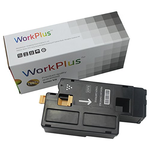 WorkPlus Replacement Toner Catrideges High Yield Compatible with Xerox Phaser 6020, 6022, WorkCentre 6025, 6027 Printers (1 Set,Black 106R02759)